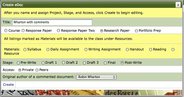 Select the student named in document title as the original author