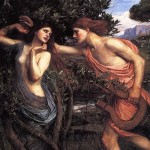 http://commons.wikimedia.org/wiki/File%3AApollo_and_Daphne_waterhouse.jpg