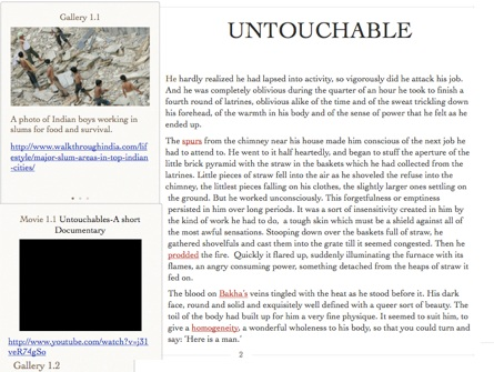 Essay On Untouchability