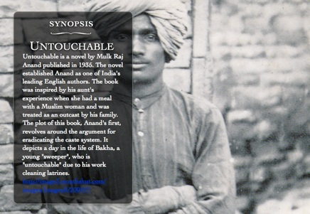 Untouchable E-Books: Mulk Raj Anand, Modernism, and Technology
