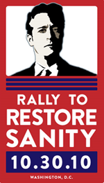Rally to Restore Sanity poster